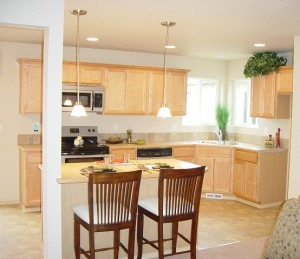 avery model home kitchen