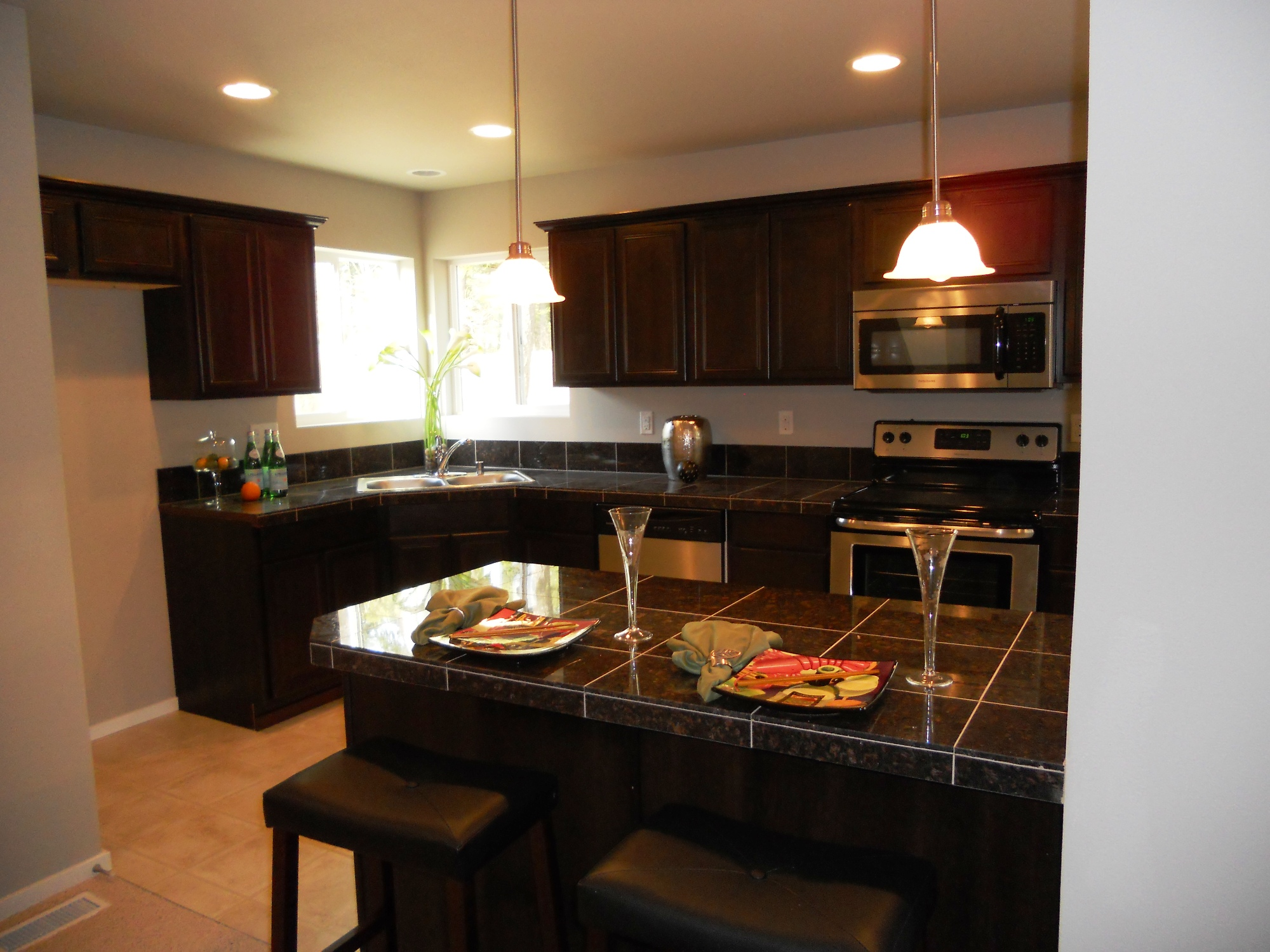Model home new kitchen design regent homes for Kitchen cabinets models